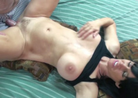 Melissa Swallows fucks in the morning
